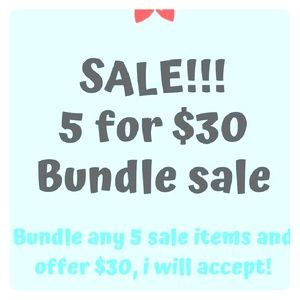Other - 5 for $30 sale!!! Anything under $8. Enjoy!!!